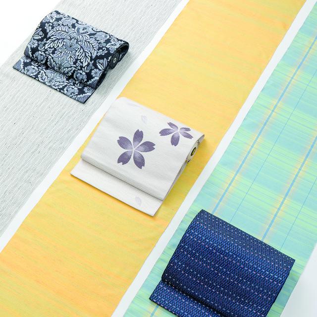 米澤織「佐志め織物とOKANOコラボ展」