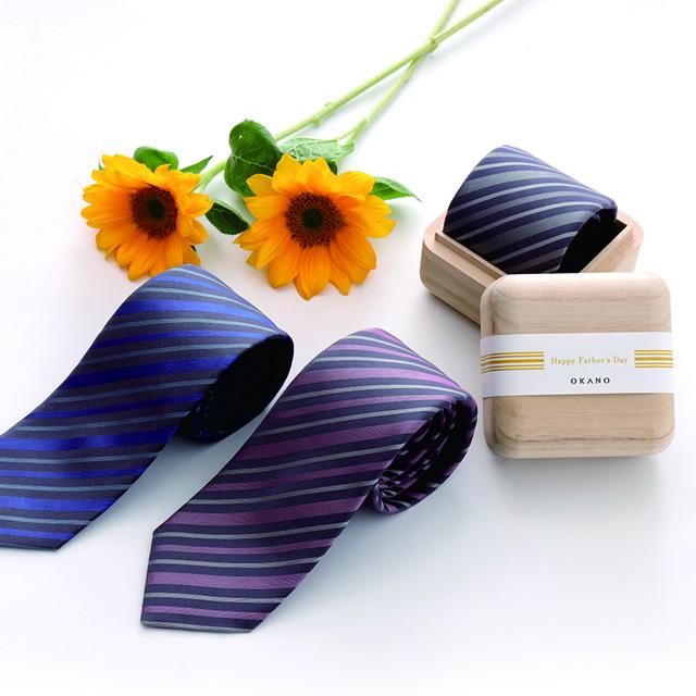 「父の日」に贈るネクタイ